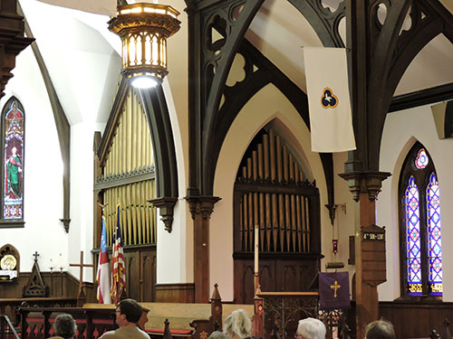 Austin organ at St. Paul's Espicopal Church, Winona, MN