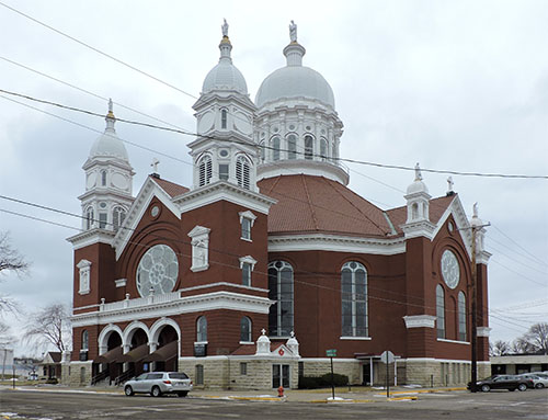The Basilica of St. Stanislaus Kostka, Winona, MN